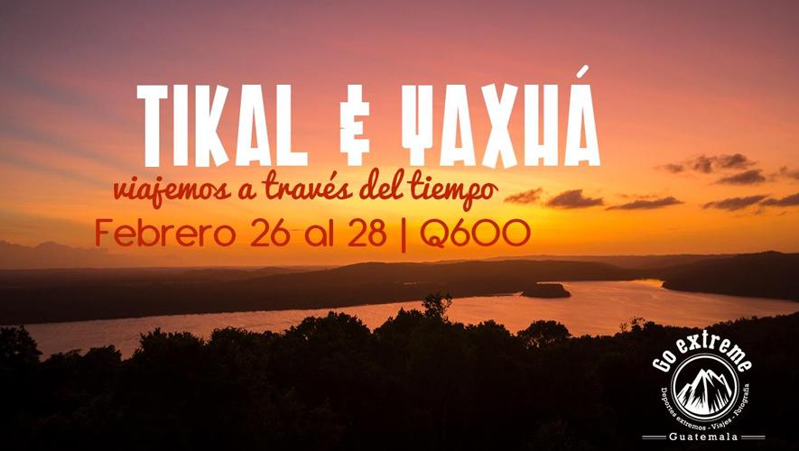 Viaje a Tikal y Yaxhá, organizado por Go Extreme | Febrero 2016