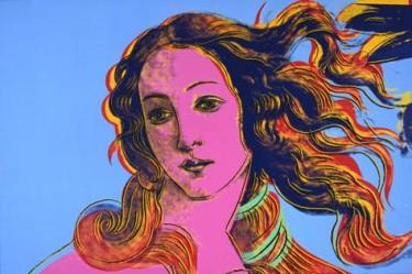 """Pintura ubicada en """"The Andy Warhol Museum"""" en Pittsburgh, Estados Unidos."""