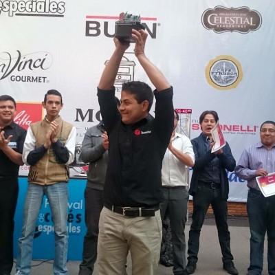 José de la Peña fue elegido como el mejor barista de Guatemala del 2016. (Foto: Coffee Magazine GT)