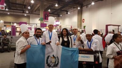 Guatemala obtuvo el tercer lugar en la competencia Bocuse d'Or 2016. (Foto: Chef Mario Campollo Sarti)
