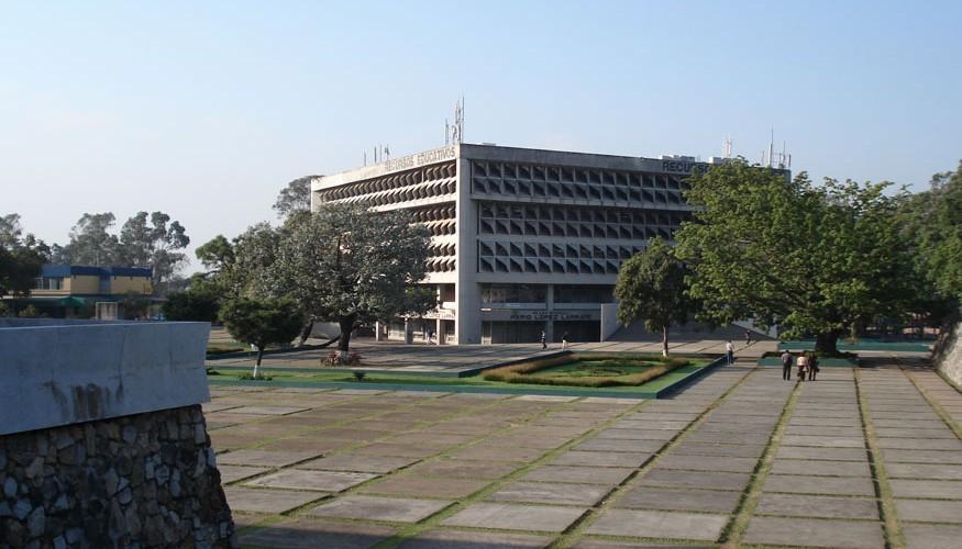 En la Universidad de San Carlos de Guatemala se encuentra la tesis de Miguel Ángel Asturias. (Foto: Sebastián Oliva)