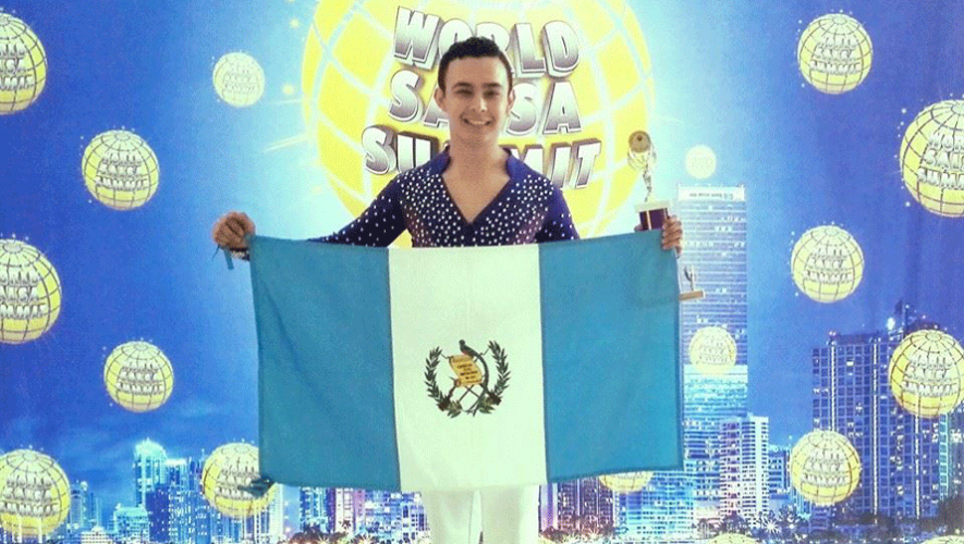 "Andres Sosa obtuvo el segundo lugar en la categoría ""Amateur Male Solo"" en la competencia mundial de salsa World Salsa Summit 2016. (Foto: ADS - Addiction Dance Studio)"