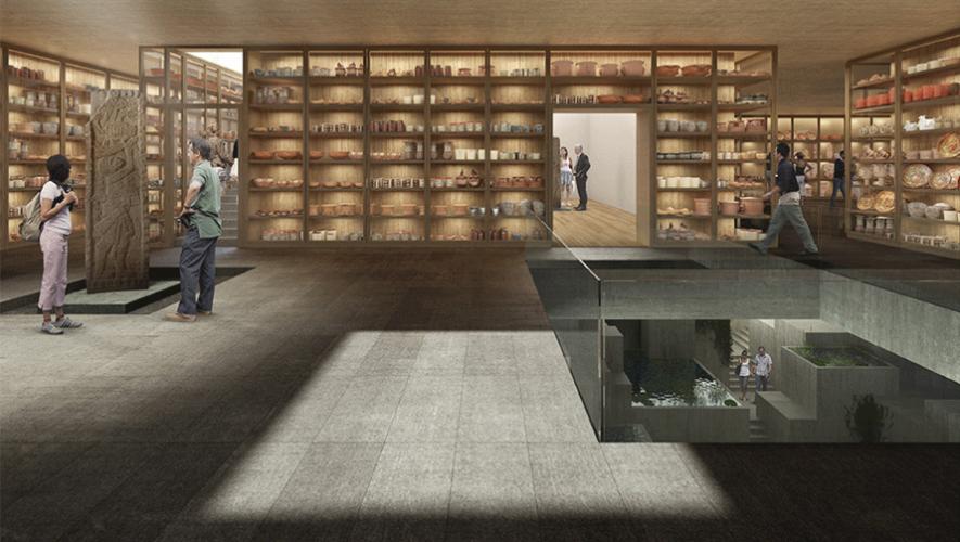 La planificación incluye bodegas abiertas para poder observar todas las piezas existentes en el museo. (Foto: Museo Maya de América)