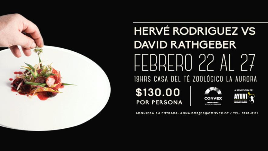 Batalla de Chefs Hervé Rodríguez vs. David Rathgeber | Febrero 2016
