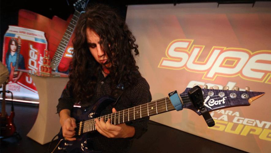 Hedras Ramos estará a cargo de impartir los cursos en el Guitar Institute of Guatemala. (Foto: Hedras Ramos)