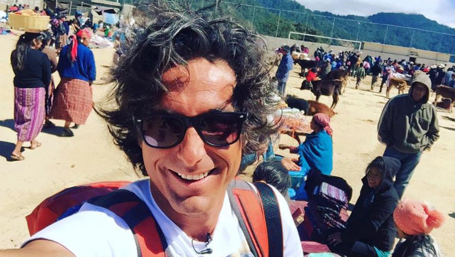"""El conductor chileno Claudio Iturra se encuentra recorriendo Guatemala para el programa """"Cultura Indómita"""". (Foto: Claudio Iturra)"""