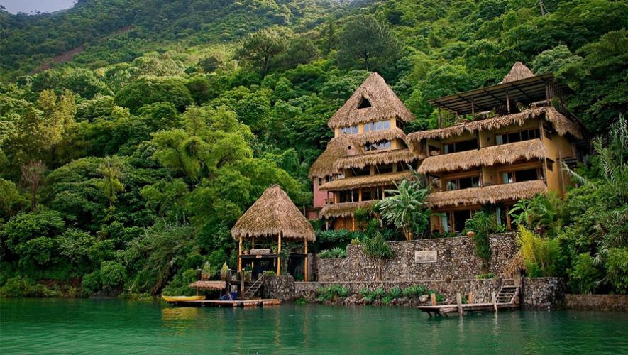 El hotel ecológico Laguna Lodge en Atitlán está nominado como uno de los mejores en el mundo  por National Geographic Traveler. (Foto: Laguna Lodge Eco-Resort & Nature Reserve)