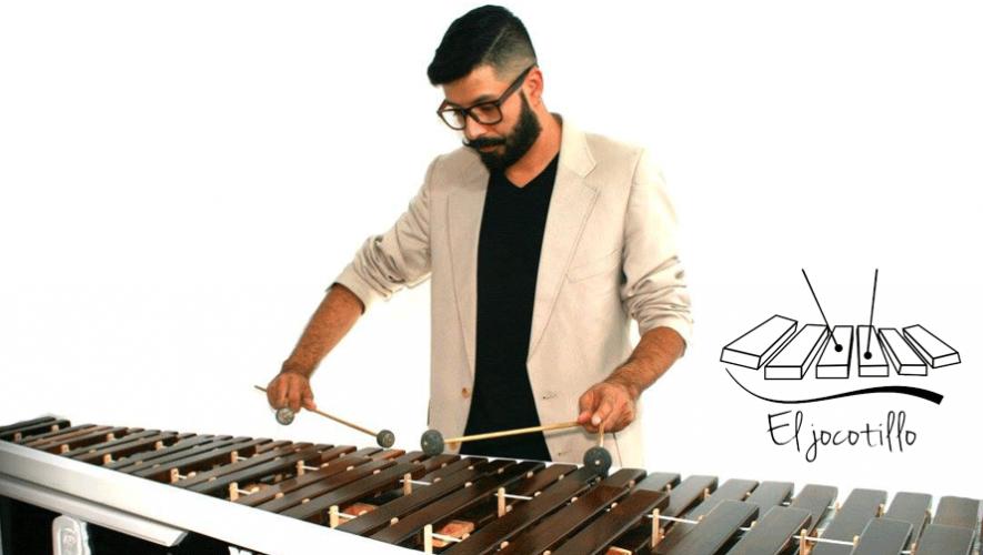 Vladimir Villatoro es el creador del concepto Marimba Pop y El Jocotillo Marimba Band. (Foto: Crista Bonilla)