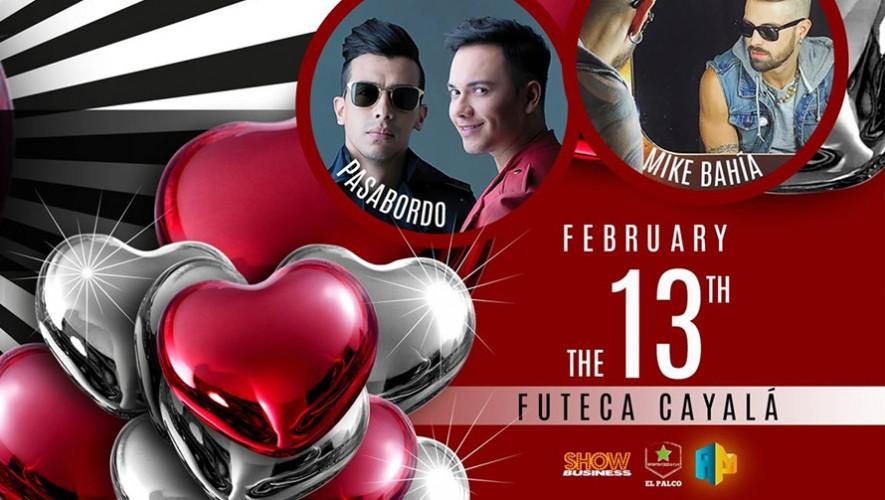 Time 2 Love Party con Mike Bahia y Pasabordo  Febrero 2016