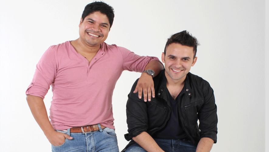 Napoleón Robleto y Carlos Peña trabajaron en su segunda colaboración. (Foto: A. Salguero)