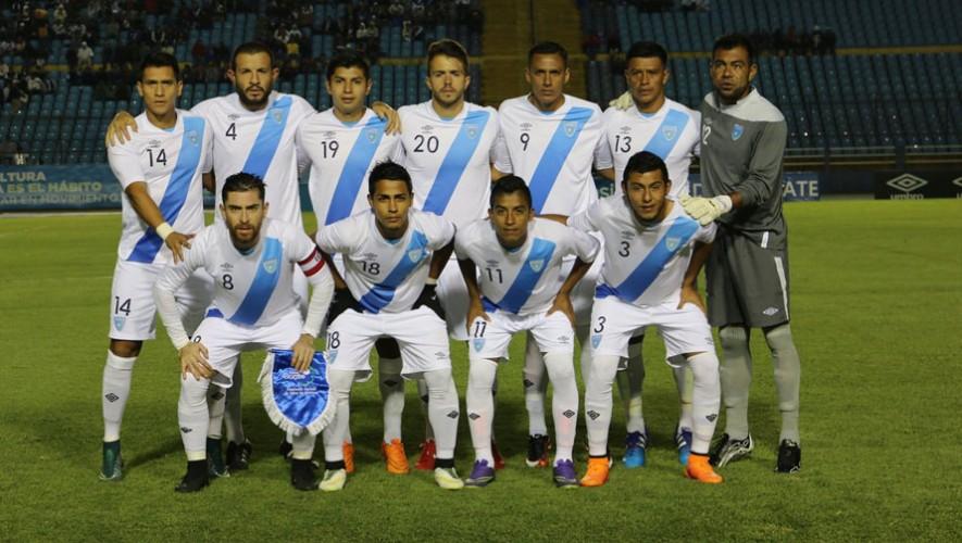 Partido amistoso Guatemala vs El Salvador   Marzo 2016