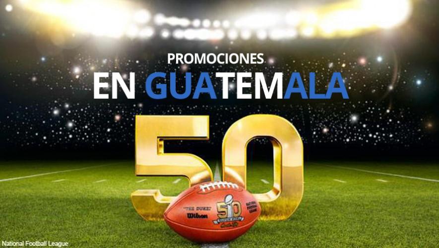 Conoce los lugares en donde podrás ver el Super Bowl y disfrutar de algunas promociones en Guatemala. (Foto: NFL)
