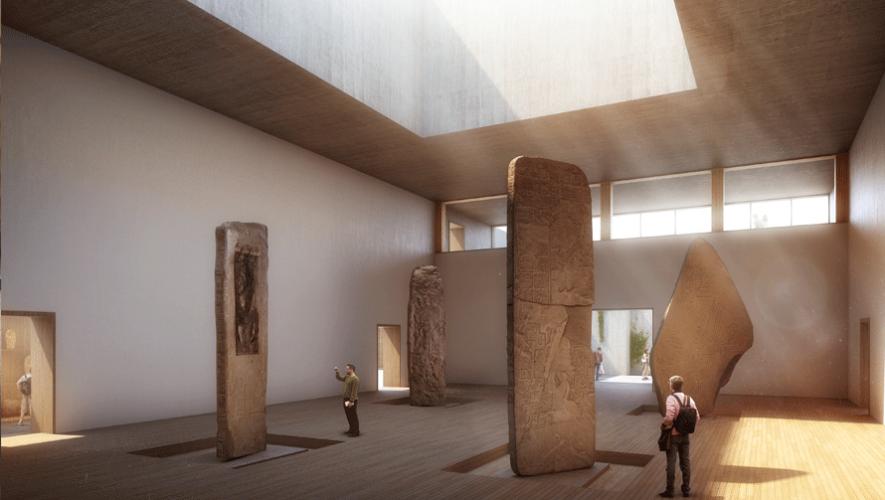 Para poder albergar grandes estructuras se crearán salones con techos altos. (Foto: Museo Maya de América)