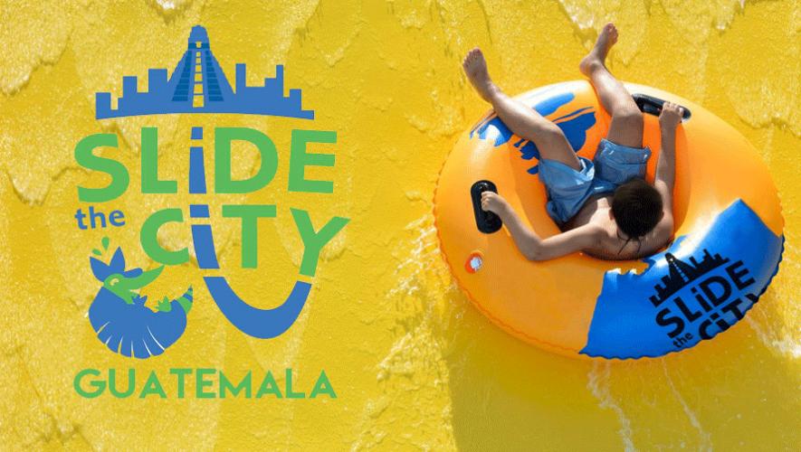Slide The City Guatemala ofrece una opción para disfrutar el verano en la Ciudad. (Foto: Slide the City Guatemala)