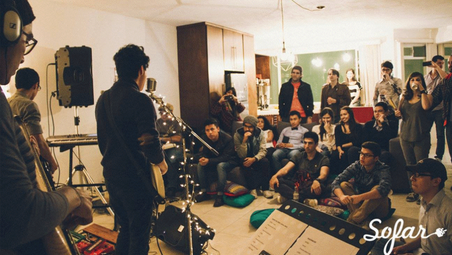 Sofar Sounds presenta a bandas emergentes en concierto desde la sala de tu casa. (Foto: Mariel Orellana Anguiano)