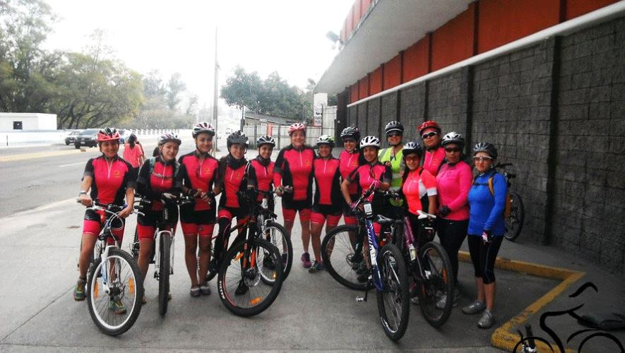 Un grupo de mujeres ciclistas saldrán a recorrer la Ciudad el domingo 28 de febrero. (Foto: Solo Ellas)