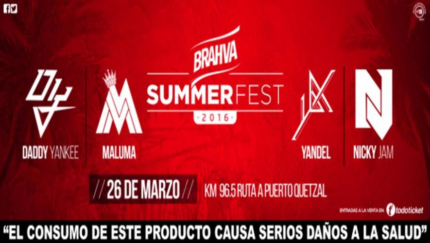 Brahva Summer Fest 2016 | Marzo 2016