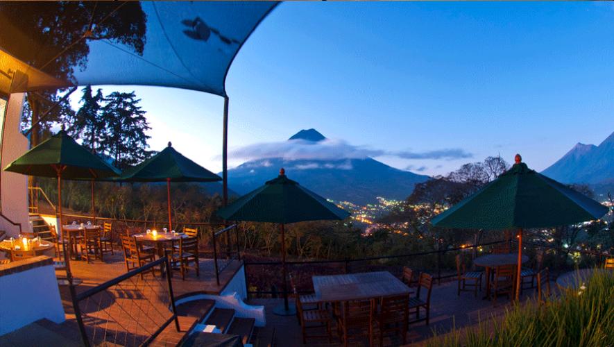 El Tenedor del Cerro en Antigua Guatemala ofrece una vista espectacular. (Foto: El Tenedor del Cerro)