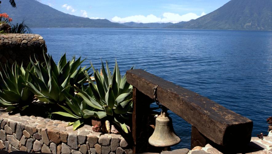 Hermosa vista desde Laguna Lodge en Atitlán. (Foto: Laguna Lodge Eco-Resort & Nature Reserve)