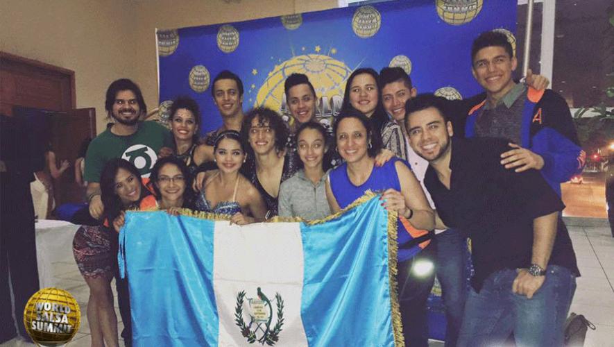 Representantes de Guatemala en el World Salsa Summit 2016. (Foto: Dance Art)