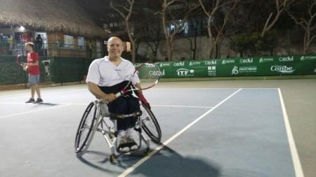 El guatemalteco se coronó como campeón en la categoría de singles. (Foto: Julio César Rueda)