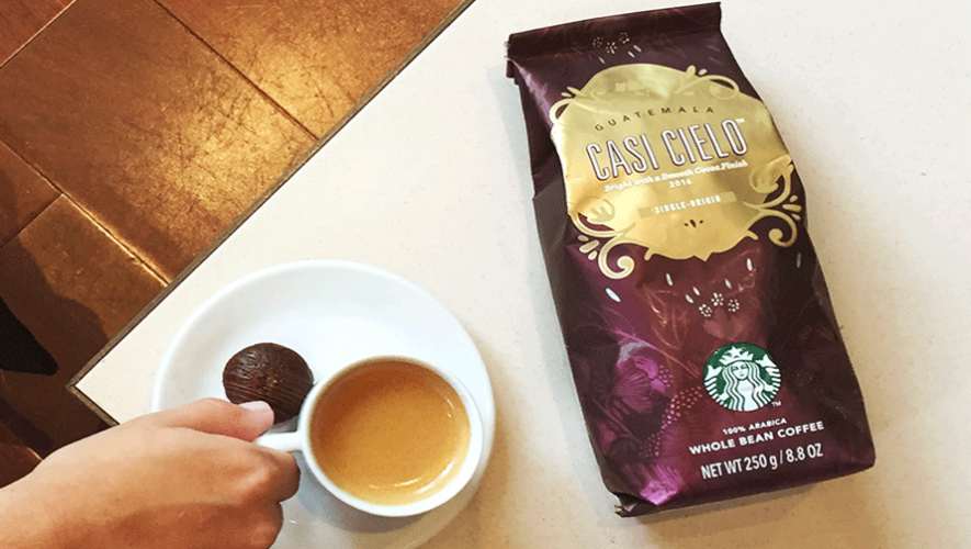 """""""Casi Cielo"""", el café proveniente de Guatemala es famoso en todo el mundo. (Foto: Starbucks Brasil)"""
