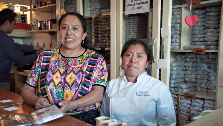Todos los productos en la Chocolatería de Doña Pancha son hechos de manera artesanal. (Foto: Catherine Ballance)
