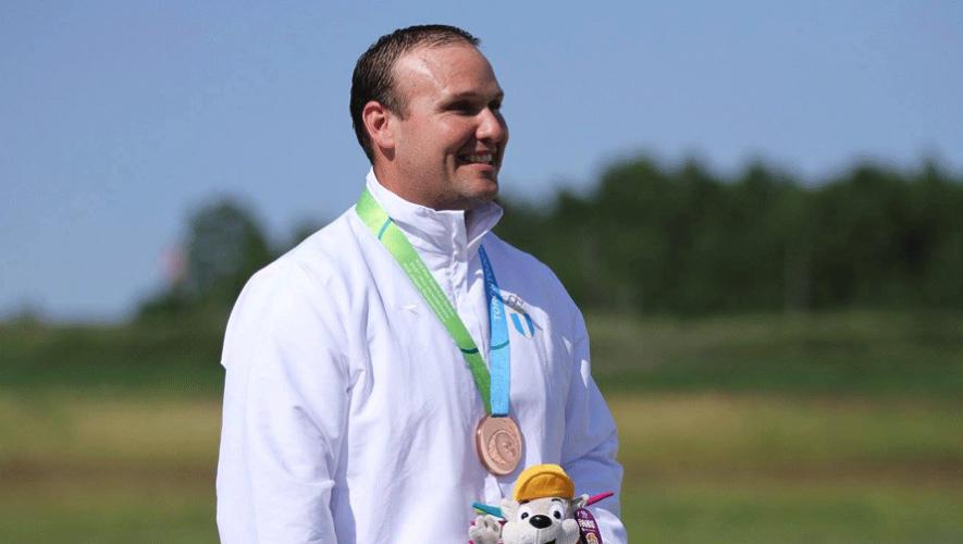 El tirador nacional Enrique Brol se posicionó en el décimo lugar del Grand Prix y fue el mejor de América. (Foto: Comité Olímpico Guatemalteco)