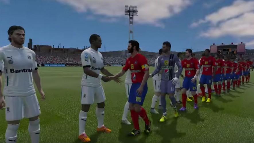 Juega con tu equipo guatemalteco favorito en  FIFA para PC. (Foto: FIFA Guate/ YouTube)