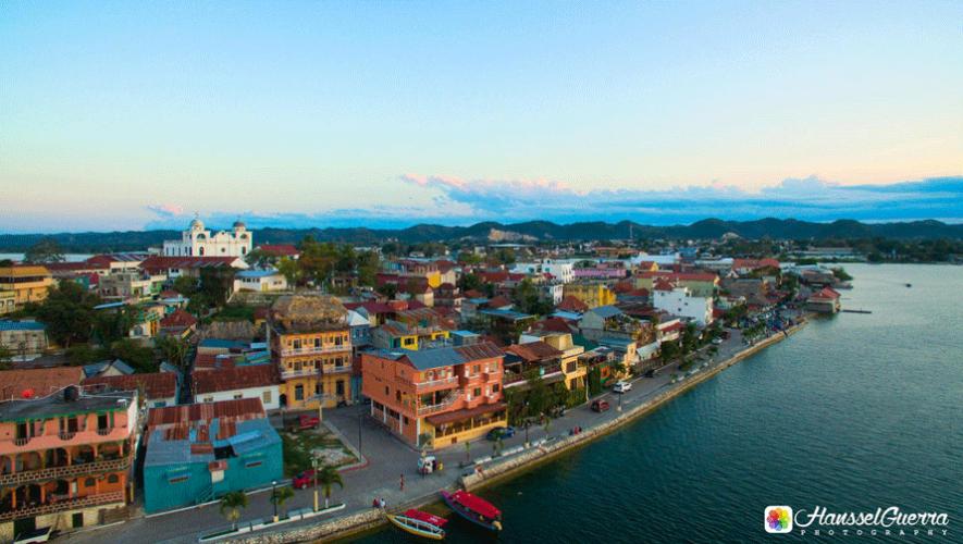 Vista de la Isla de Flores, en Petén. (Foto: Hanssel Guerra Photography)