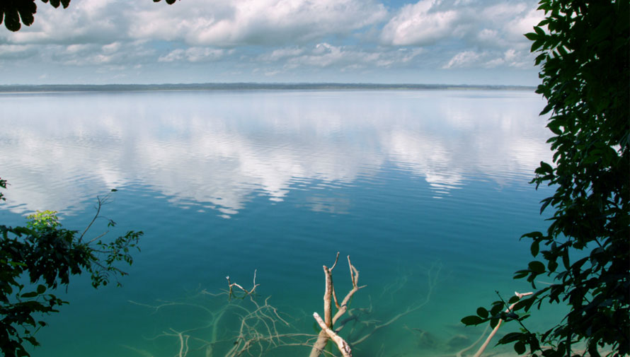 Vista al Lago en Hotel La Lancha