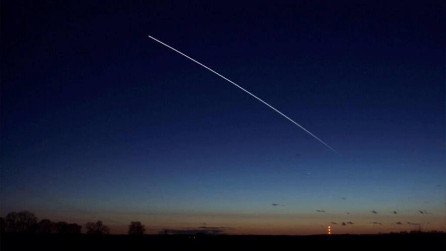 El paso de la Estación Espacial Internacional será visible en Guatemala el 28 de marzo de 2016. (Foto: NASA)