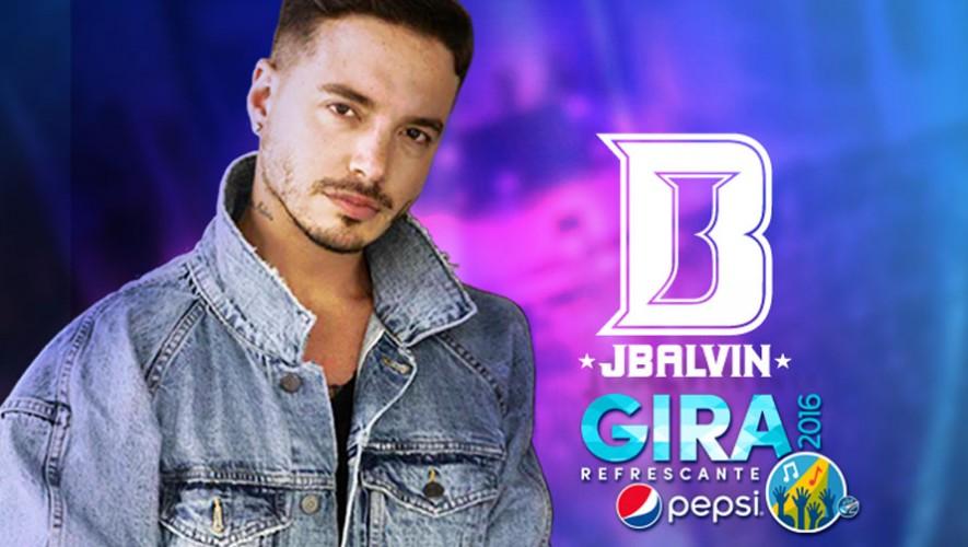 Concierto gratuito de J Balvin en Cayalá   Marzo 2016