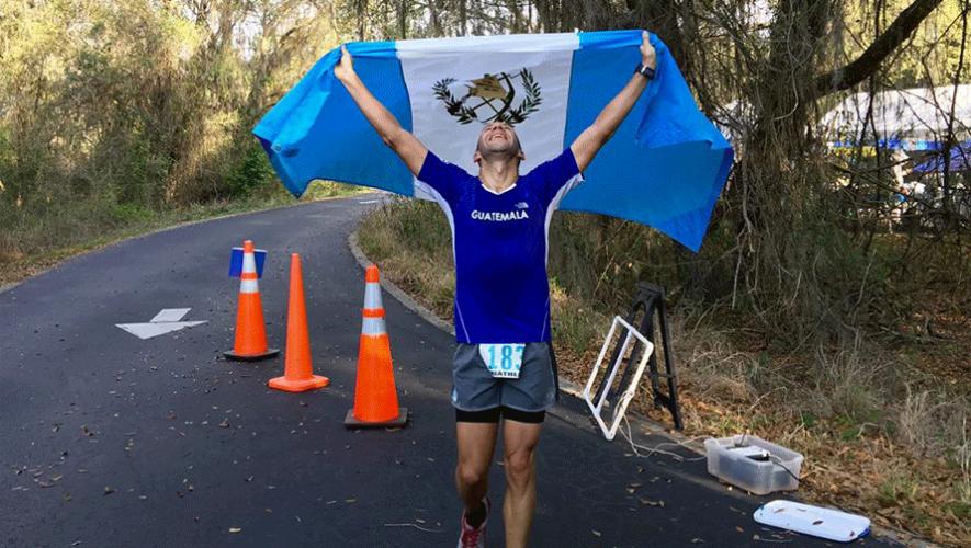 Juan Carlos Sagastume completó la exigente prueba en un tiempo de 24:55:56. (Foto: Juan Carlos Sagastume)