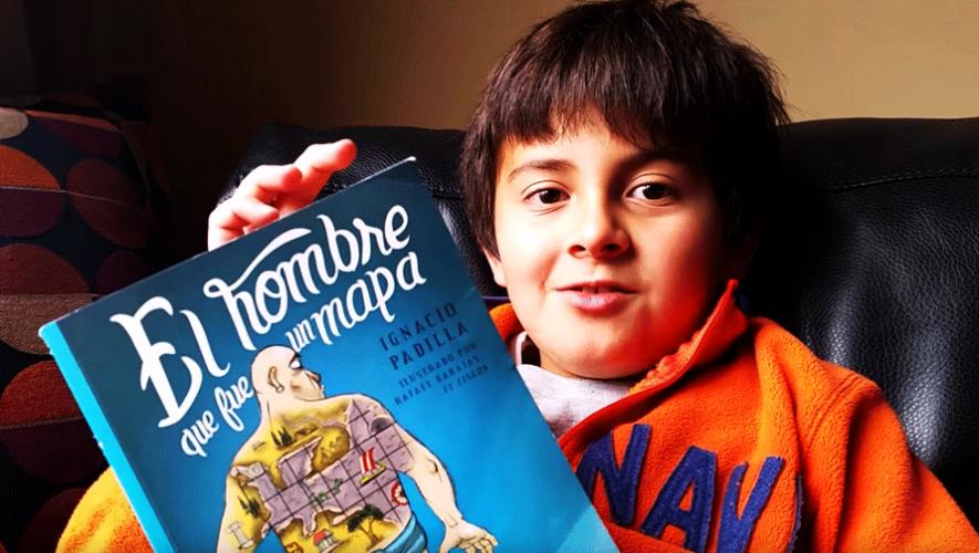 Juan Pablo Franky de 9 años fue el ganador del primer Concurso Internacional de Booktubers que se realizó en México. (Foto: YouTube)