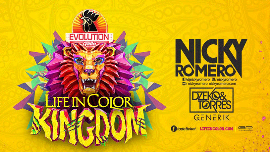 Life in Color Kingdom | Marzo 2016