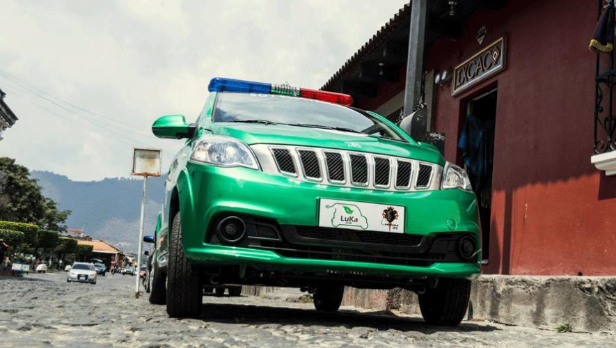 Los automóviles Luka estarán a prueba durante Semana Santa en Antigua Guatemala. (Foto: Municipalidad de Antigua)
