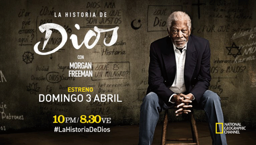 Story of God, la serie que grabó Morgan Freeman en Guatemala se estrena el 03 de abril en National Geographic Channel. (Foto: National Geographic Channel)