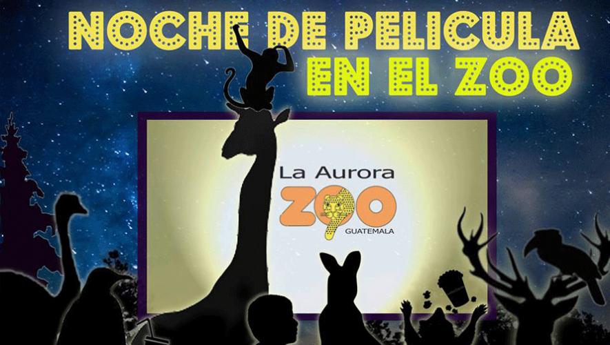 Disfruta de una noche de película dentro del Zoológico La Aurora. (Foto: AMO AL ZOO LA AURORA)