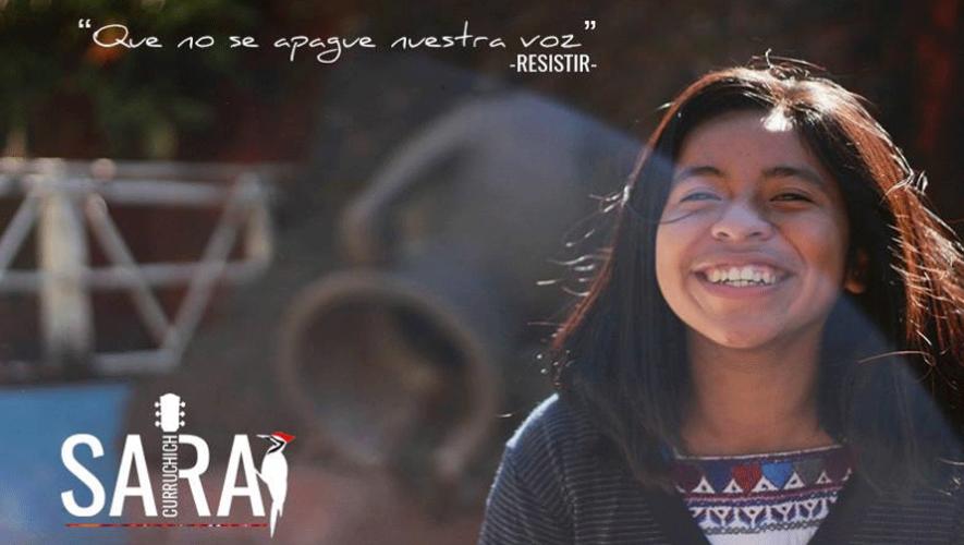"La cantante guatemalteca Sara Curruchich lanzó su nuevo tema ""Resistir"". (Foto: Sara Curruchich)"