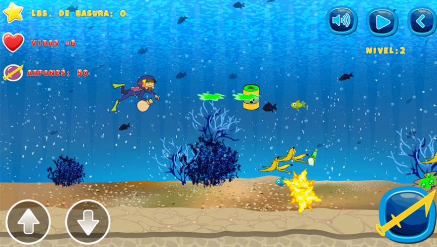 El Ministerio de Ambiente y Recursos Naturales creó una serie de juegos con enfoque educativo y ambiental. (Foto: Captura MARN)