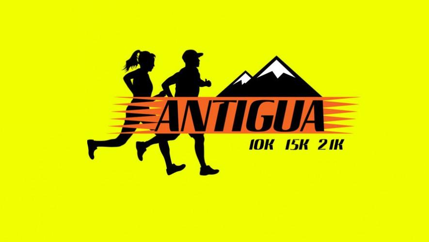Carrera 21K Antigua Guatemala   Abril 2016