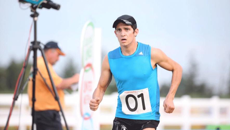 Deportistas nacionales como Charles Fernández se esfuerzan diariamente para representar a Guatemala. (Foto: Comité Olímpico Guatemalteco)