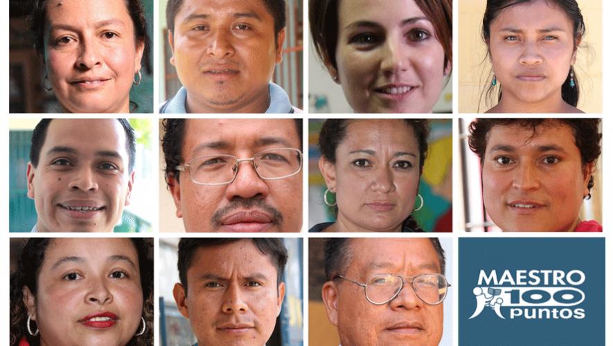 El Premio Maestro 100 Puntos busca reconocer el trabajo de los mejores maestros de Guatemala. (Foto: Maestro 100 Puntos)