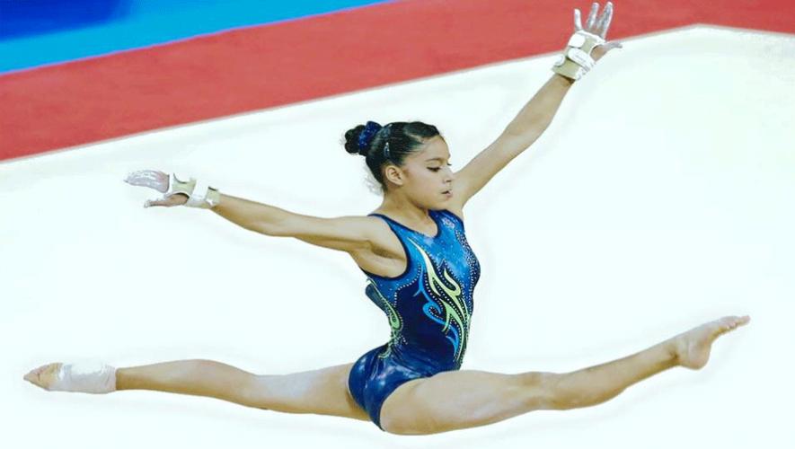 La gimnasta guatemalteca Ana Sofía Gómez  clasificó para los Juegos Olímpicos Río 2016. (Foto: Ana Sofía Gómez Porras)