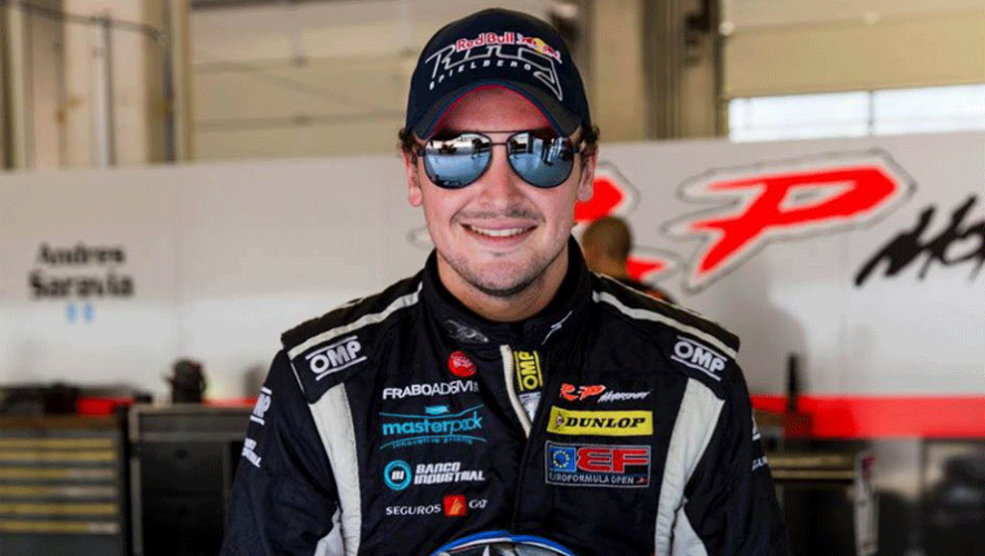 """Andrés Saravia, piloto guatemalteco, participará en el Circuito Estoril del GT Open 2016. (Foto: Andrés """"Lush"""" Saravia)"""