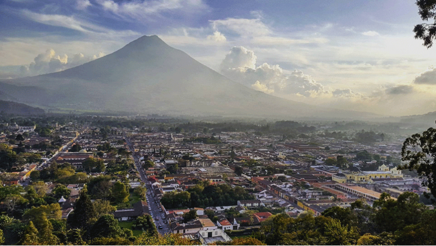 Antigua Guatemala es una ciudad única por sus hermosos paisajes. (Foto: José Meneses)