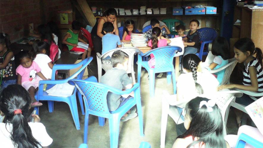 (Foto: Bibliotecas Comunitarias de Guatemala)