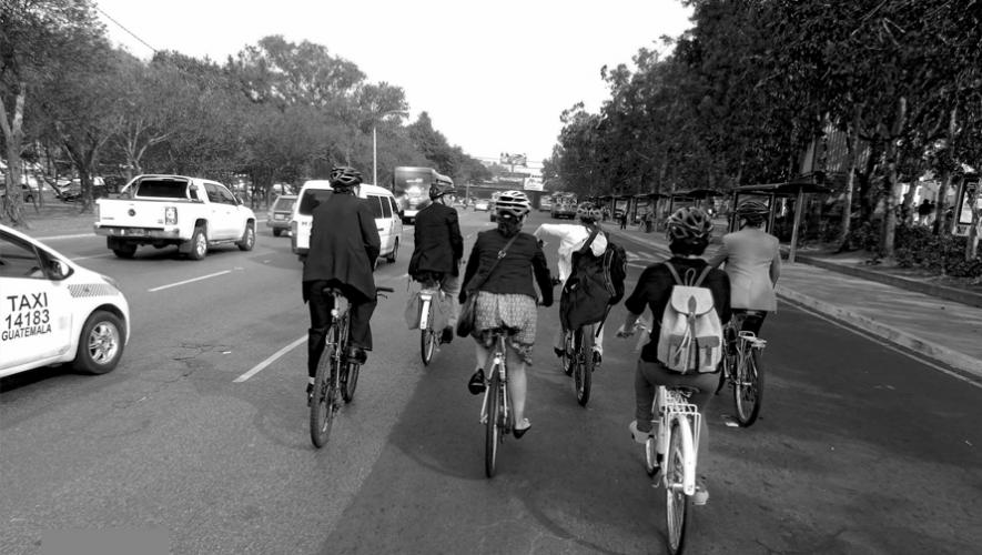 Un grupo de jóvenes creó una aplicación móvil para apoyar a la comunidad ciclista de Guatemala. (Foto: BiCiudad de Guatemala)