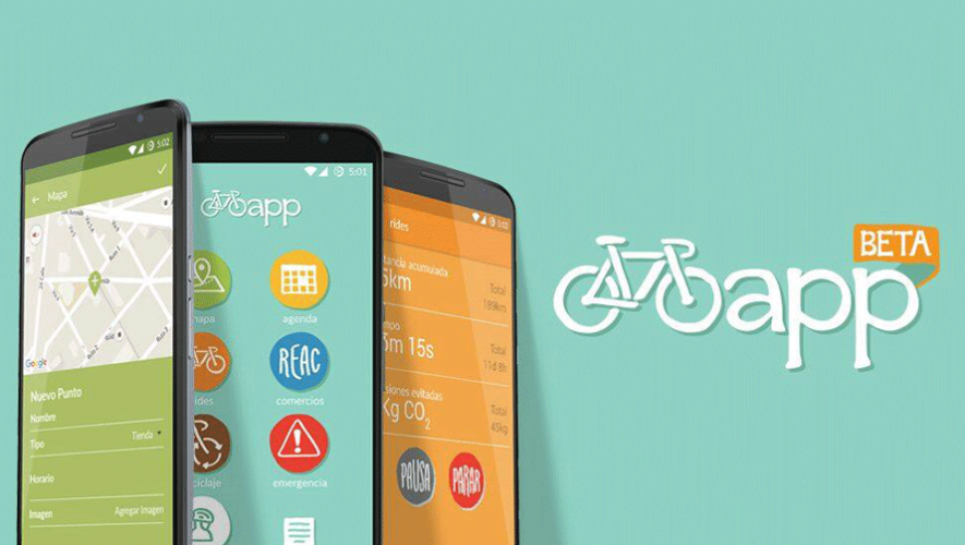 Biciapp es el nombre de la aplicación creada por guatemaltecos para la comunidad ciclista. (Foto: BiCiudad de Guatemala)